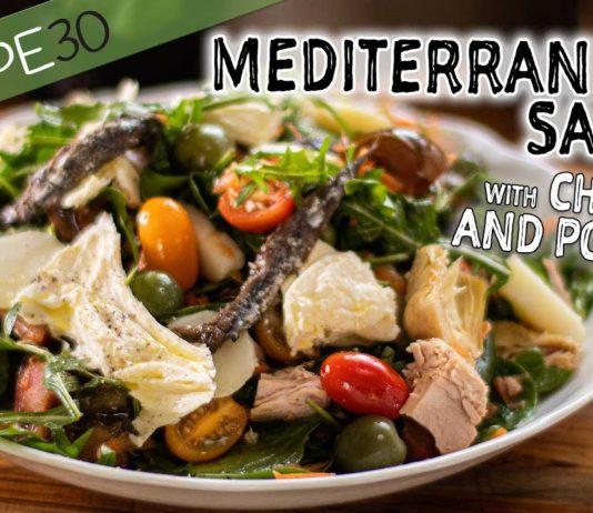 A Delicious and Healthy Mediterranean Salad