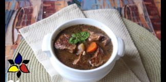 All American Slow Cooker Keto Beef Stew | Keto Recipes