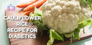 CAULIFLOWER RICE RECIPE FOR DIABETICS | Low carb, gluten free