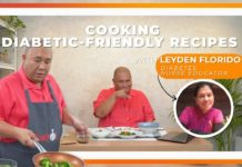 COOKING DIABETIC-FRIENDLY RECIPES CHALLENGE