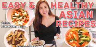 Easy Healthy Asian #StayHome Recipes - No Sweat: EP39