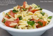 Easy Orzo Salad Recipe