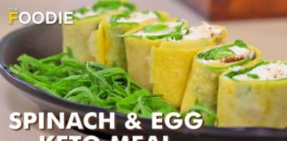 Egg & Spinach Keto Meal | Keto Diet | Quick Recipe | Healthy Binge Series