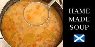 Hame Made Soup |  Scottish Ham hough & Lentil soup :)
