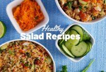 Healthy Salad Recipes | Amaranth & Quinoa Salad Bowl (Plant Based Recipe)