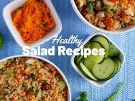 Healthy Salad Recipes   Amaranth & Quinoa Salad Bowl (Plant Based Recipe)