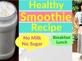 Healthy Smoothie Recipe In Hindi | PCOS/Thyroid/Diabetes | No Milk | No Sugar|Oats | Dr.Shikha Singh