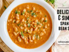 Heart-Warming Spanish Bean Soup |  Easy to Make & Packed with Goodness