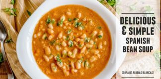 Heart-Warming Spanish Bean Soup    Easy to Make & Packed with Goodness