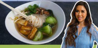 How to make Vegetarian Pho   MyHealthyDish