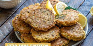 Keto Tuna Fritters Recipe – How To Make Fish Fritters – Blondelish