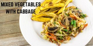 Mixed Vegetables with Cabbage - African Vegan Recipe - Precious Kitchen - Ep 67