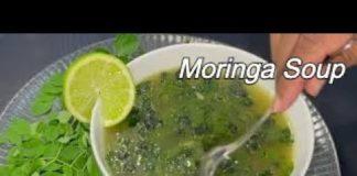Moringa Soup Recipe   Healthy Vegetarian Soup Recipe   Moringa Leaves Soup