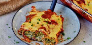 Spinach & 'Ricotta' Cannelloni (Vegan Recipe)
