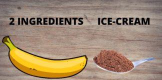 Sugar Free Ice Cream Recipe 1 minute //No Sugar // Glace sans sucre