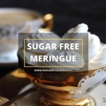 Sugar Free Meringue Cookies Recipe