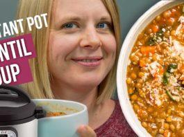 THE BEST Instant Pot LENTIL Soup Recipe |  NO Sauteing