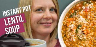 THE BEST Instant Pot LENTIL Soup Recipe    NO Sauteing