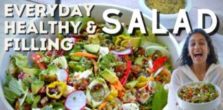 THE MOST EPIC Salad That You Won't Get Tired Of!!