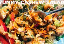 The Best Chicken Cashew Salad Recipe