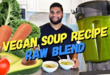 Vegan Soup Recipe *Raw Blend*