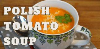 Vegetarian Polish Tomato Soup l Zupa Pomidorowa