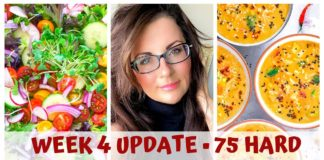 WEEK 4 • 75 HARD UPDATE • ANNIVERSARY, SOUPS & FRIENDS @yogalebrity