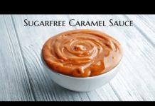 3 Ingredients Sugarfree Caramel Sauce | How to make Caramel Sauce |