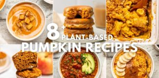 8+ Plant-Based Pumpkin Recipes for Fall (Sweet and Savory!)