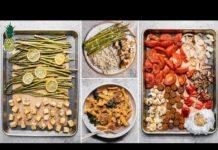 Easy Vegan Sheet Pan Dinner Recipes (Gluten and Oil-Free)