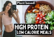 High protein vegan meals for fat loss