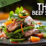Is this the best summer salad ever? Thai beef salad