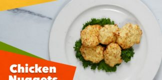 Keto Chicken Nuggets Recipe