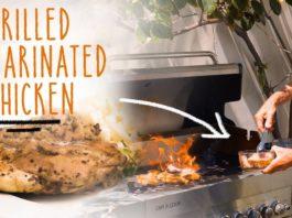 Keto Recipe - Devyn's Grilled Marinated Chicken
