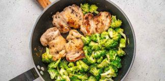Keto Recipe - Fried Chicken and Broccoli