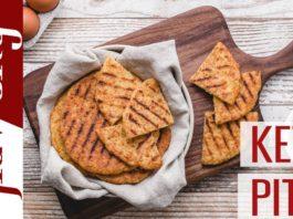 Low Carb Pita Bread Recipe - Keto & Gluten Free