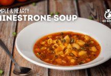 Minestrone Soup | Italian Vegetable Pasta Soup | Soup Recipe | Vegetarian Soup Recipe | Cookd