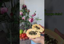 #short/Papaya Salad Recipe COVID 19 Salad/Immunity Boosting Papaya to Fight Against Covid 19/Corona